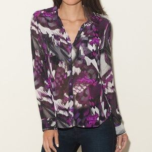 Guess Isabel floral printed blouse